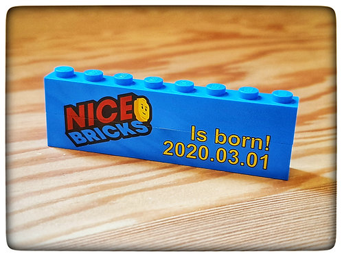 Nicebricks pad printed brick