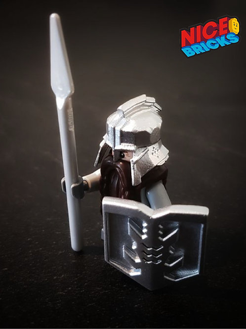 Custom Iron Hills Dwarf style artwork minifigure