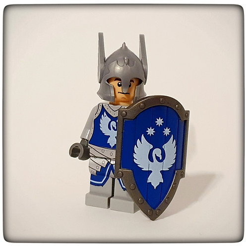 Custom Dol Amroth Soldier shield