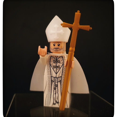 Custom Pope minifigure