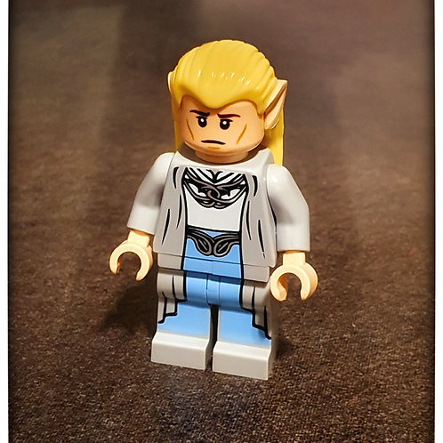 Celeborn custom style artwork minifigure