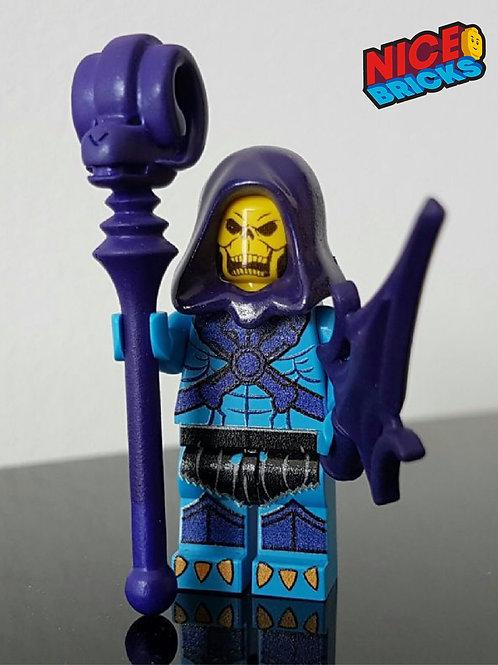 MOTU Skeletor custom style artwork minifigure