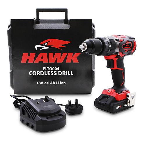 """Hawk Tools 1/2"""" 18v Li-ion Screwdriver Drill"""