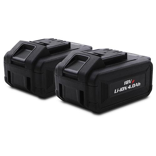Hawk Tools 18v 4000mAh Li-ion Battery (Set of 2)