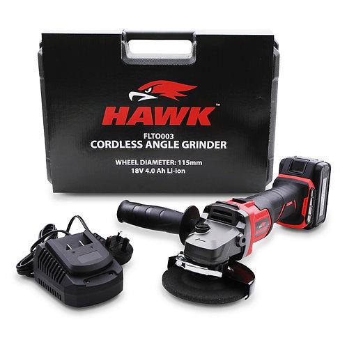 Hawk Tools 115mm 18v Brushless Angle Grinder
