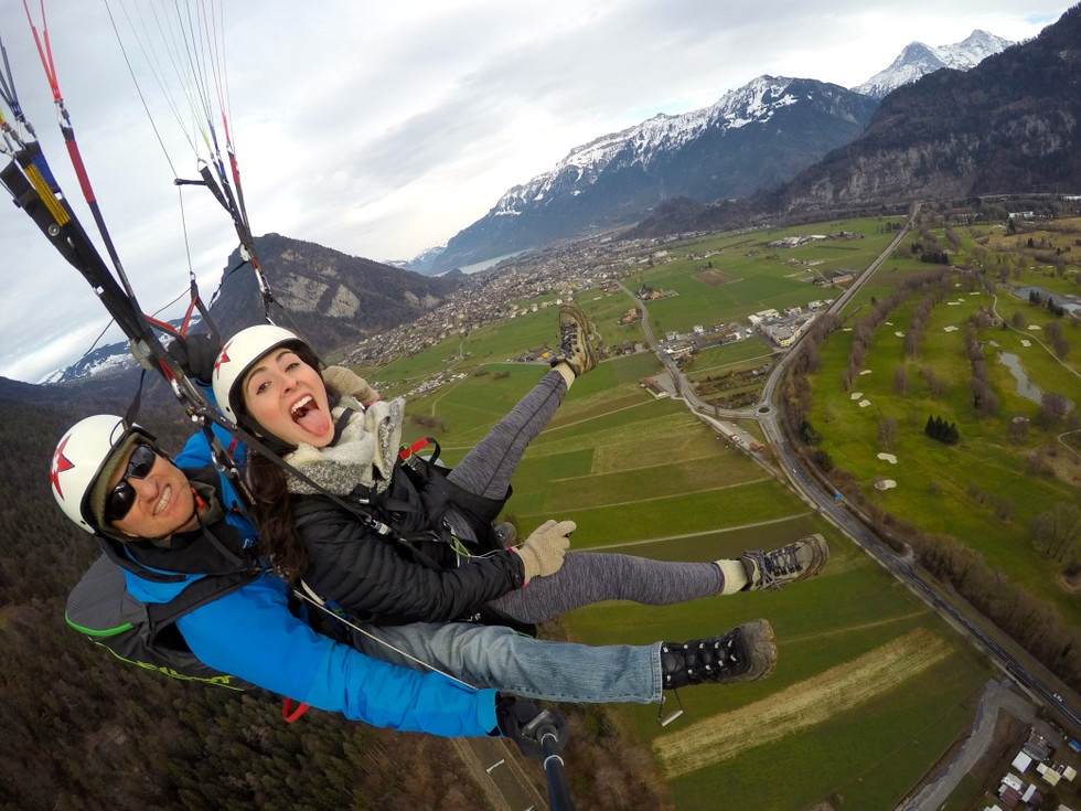 The One Where I Went Paragliding Over The Swiss Alps
