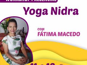 Workshop Presencial Yoga Nidra            11/09 e 12/09