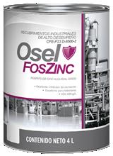 OSEL FOSZINC Primario Alquidal. Fosfato de cinc alquidal óxido