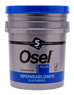 Impermeabilizante Acrílico Osel Plata