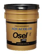 Esmalte Aquacolor Mate Osel Oro