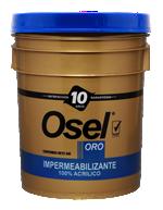 Impermeabilizante 100% Acrílico Osel Oro