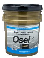 Esmalte Niebla en Seco B.A. 100% Acrilico Osel Oro