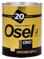 Pintura Emulsionada Mate Osel Oro