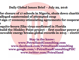 DGI Brief - July 29, 2016