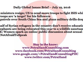 DGI Brief - July 19, 2016