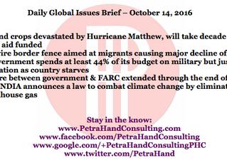DGI Brief - Oct 14, 2016
