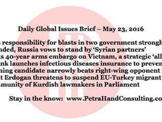 DGI Brief - May 23, 2016