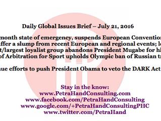 DGI Brief - July 21, 2016