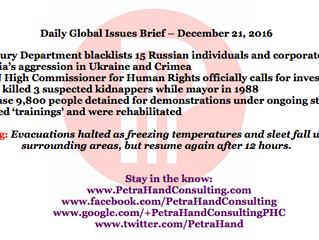 DGI Brief - Dec 21, 2016