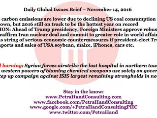 DGI Brief - Nov 14, 2016