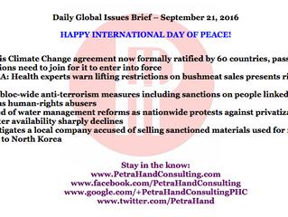 DGI Brief - Sep 21, 2016