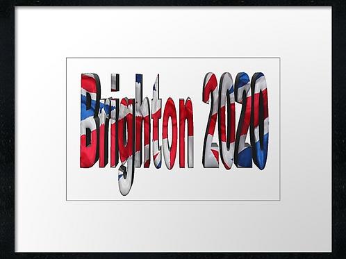 Brighton 2020,  example shown 40cm x 30cm framed print