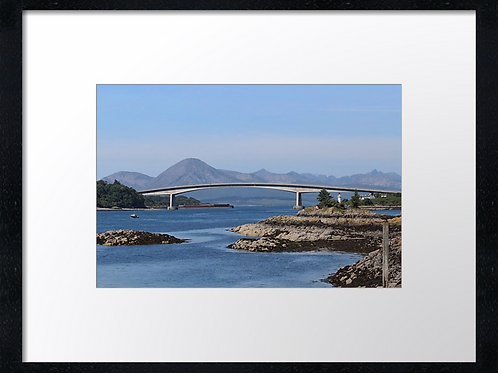 Skye Bridge 40cm x 30cm framed print or canvas
