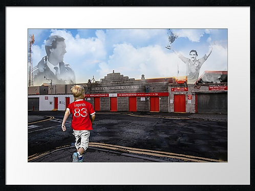 Aberdeen 83 Legends print or canvas print Example shown 40cm x 30cm framed print