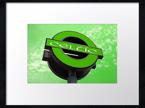 Celtic Station. Example shown 40cm x 30cm framed print or canvas p