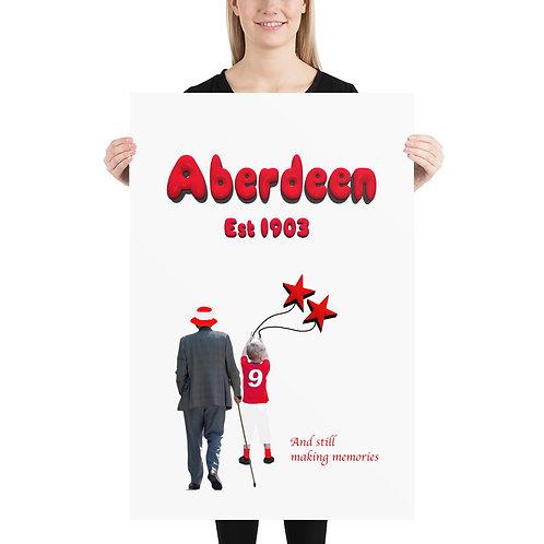 Aberdeen Fc (5) Memories Poster