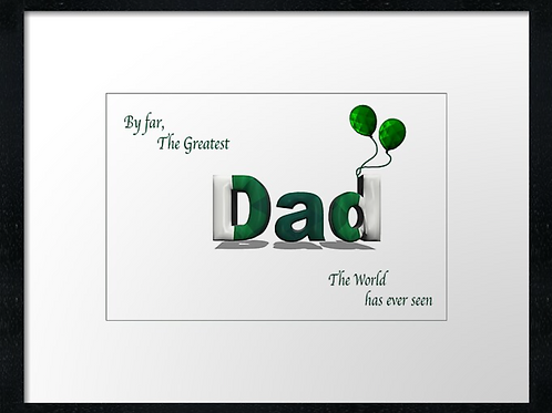 Hibs Dad (3)  framed print or canvas print