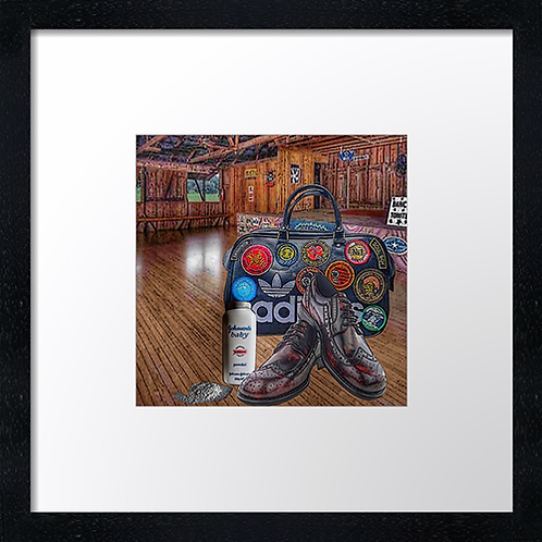 "Soul dancing (2) Print or canvas print Example shown is 10"" Framed print £21.50"
