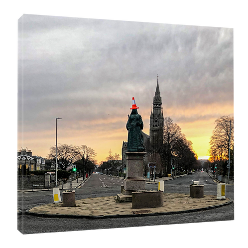 "Queen's Cross, cone head! Aberdeen  (Example shown 10"" Framed print £21.50)"