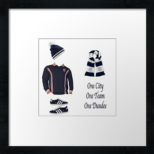 """Dundee fc match ready (Example shown 10"""" Framed print £21.50)"""