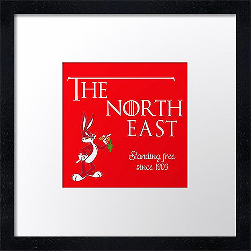 "The North East (3) Example shown 10"" framed print £21.50"