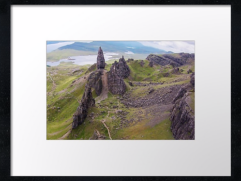 Storr, Isle of Skye (1) 40cm x 30cm framed print or canvas print