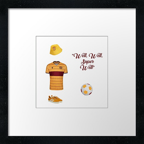 "Motherwell (1) (Example shown 10"" Framed print £21.50)"