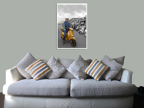 Brighton 20 73 Print,  Framed print, canvas print or poster