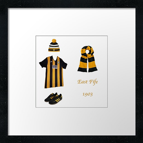 "East Fife fc match ready (Example shown 10"" Framed print £21.50"