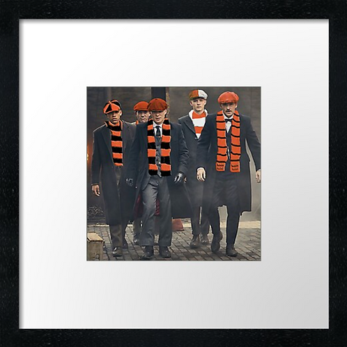 "Dundee United fans  (Example shown 10"" Framed print £21.50"