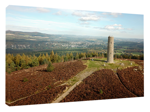 Scolty Hill, Banchory drone picture (2)  40cm x 30cm framed print or c