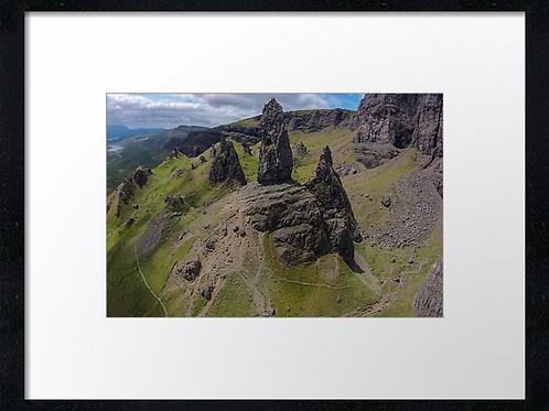 Storr, Isle of Skye (3) 40cm x 30cm framed print or canvas print