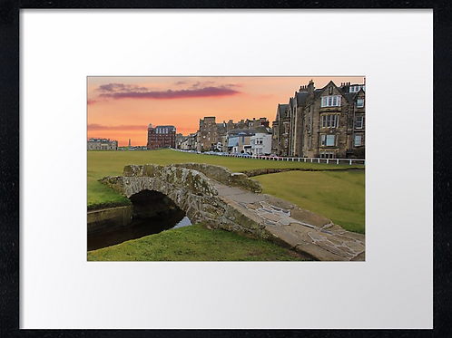 St Andrews Golf 3 Print or canvas. Example 40cm x 30cm framed print