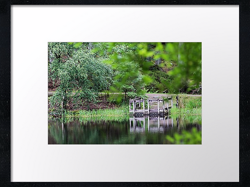 Glencoe loch an   40cm x 30cm framed print or canvas pri