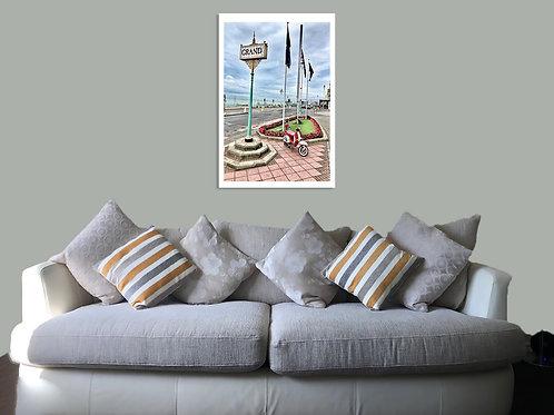 Brighton 20 25 Print,  Framed print, canvas print or poster