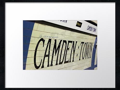 Underground 40cm x 30cm framed print, canvas print or A4, A3 moun