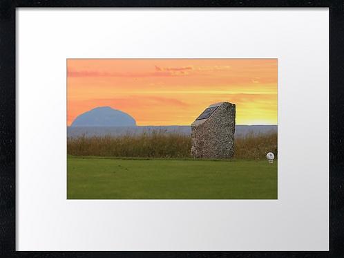 Turnberry golf course (1) 40cmx 30cm framed print or canvas print