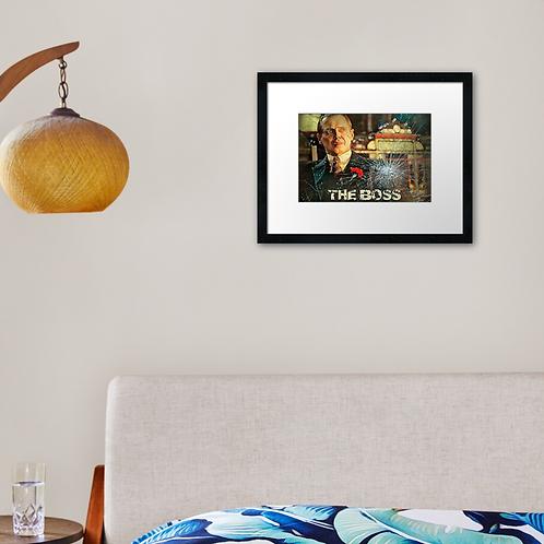 Nucky 3 print or canvas print. Example shown 40cm x 30cm frame