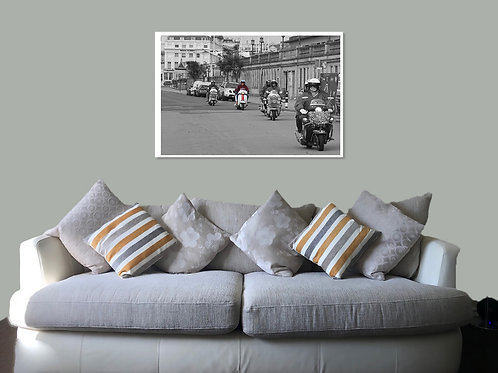 Brighton 20 54 Print,  Framed print, canvas print or poster