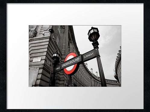 London (7) print or canvas print (example shown 40cm x 30cm framed print)